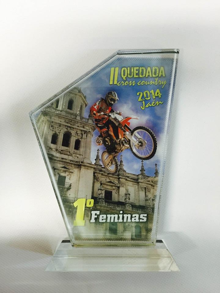 | Trofeo de cristal