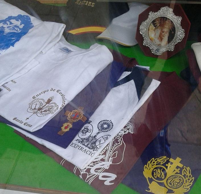   Camiseta para cuadrillas de costaleros de diversas cofradías